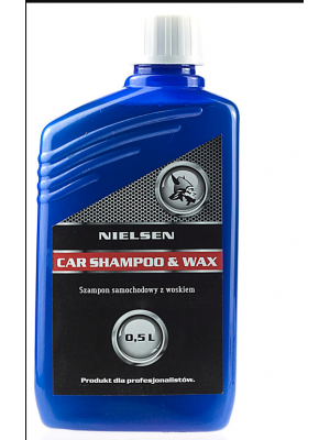 NIELSEN Car Shampoo & Wax 500 ml