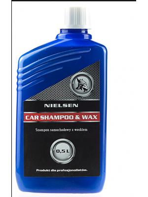 NIELSEN Car Shampoo & Wax 500ml
