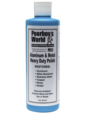 POORBOY'S Aluminium Metal Polish 473 ml