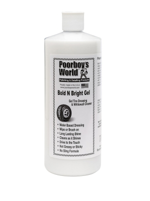 Poorboy's World Bold n Brite Gel 946ml