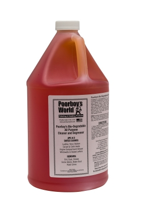 Poorboy's World Bio-Degradable All Purpose Cleaner & Degreaser 3,8