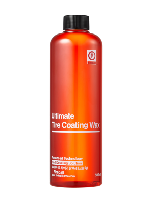 Fireball Ultimate Tire Coating Wax – Red 500ml