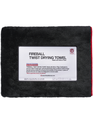 Fireball Twist Drying Towel 70x200 cm