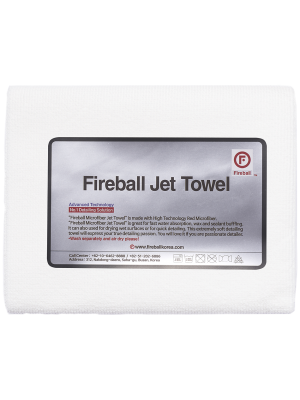 Fireball Jet Towel White 60x40 cm