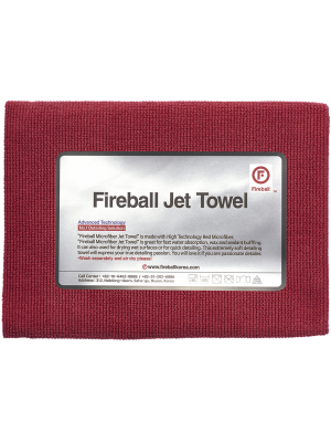 Fireball Jet Towel Red 60x40 cm