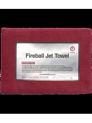 Fireball Jet Towel Red 60x40 cm