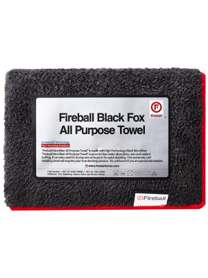 Fireball Black Fox All Purpose Towel 75x40 cm