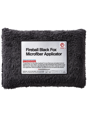 Fireball Black Fox Microfiber Applicator