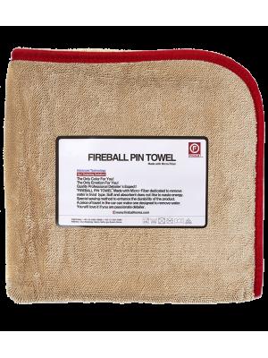 Fireball Pin Towel Red 72x95 cm