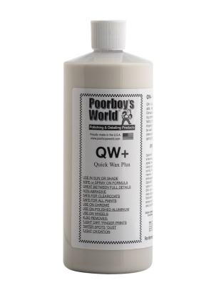 Poorboy's World Quick Wax Plus QW+ 946ml