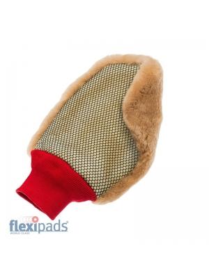 Flexipads Merino Super Soft Lambskin Wash Mesh Mitt
