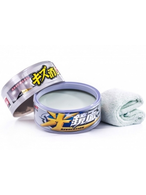 SOFT99 New Scratch Cleaer Wax-Mirror Finish P&M 200g