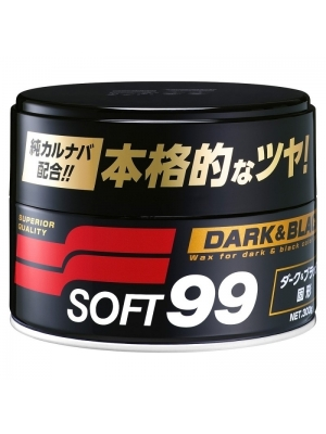 SOFT99 Dark & Black Wax 300g