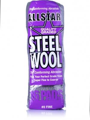 Wełna Stalowa DS Steel Wool Pads 0 Fine
