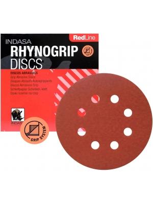 Indasa RedLine 125mm 150 1szt. Papier Ścierny Krążek Rzep