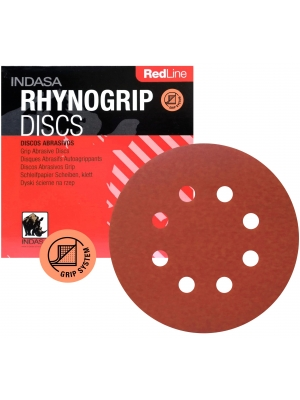 Indasa RedLine 125mm 240 1szt. Papier Ścierny Krążek Rzep