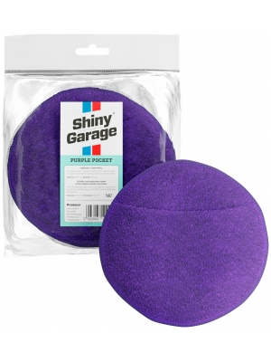 Shiny Garage Purple Pocket Micorfiber Applicator 13.5x3cm