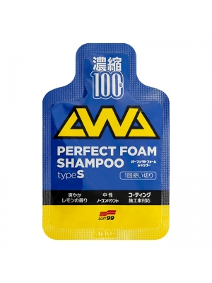 SOFT99 Perfect Foam Shampoo Type S 1 szt.