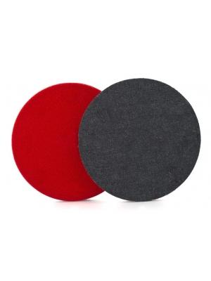 Flexipads 150mm 9-Hole Denim Aggressive Orange Peel Pad